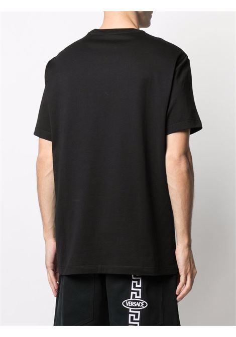 T-shirt nera VERSACE | 10012801A009151B000