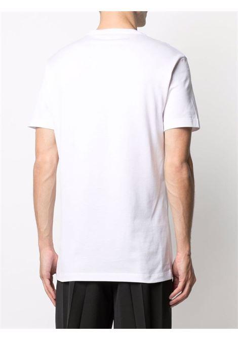 White/black t-shirt VERSACE | T-SHIRT | 10012881A009221W000