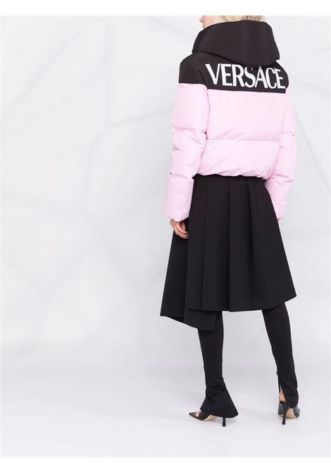 Pink/black padded jacket VERSACE | 10013971A009742B140