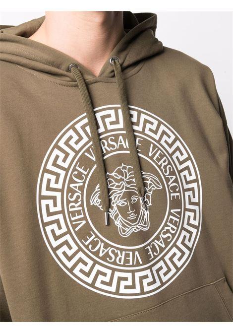 Green sweatshirt VERSACE | SWEATSHIRTS | 10014191A010521K250
