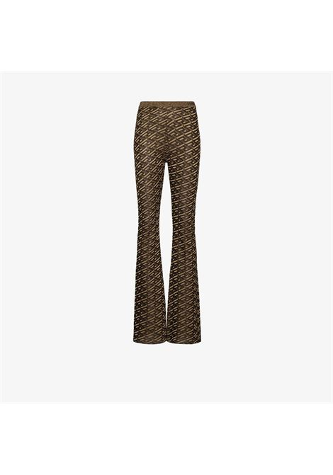 Brown trousers VERSACE | 10019141A015245B090