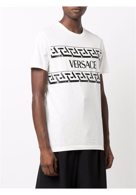 T-shirt bianca VERSACE | 10024281A017801W000