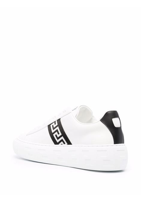 White/black sneakers VERSACE | DST644D1A007752W020