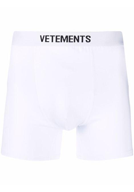 Boxer VETEMENTS | MA52TR110W1051WHITE