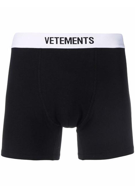 Boxer VETEMENTS | MA52TR110X1051BLACKWHITE