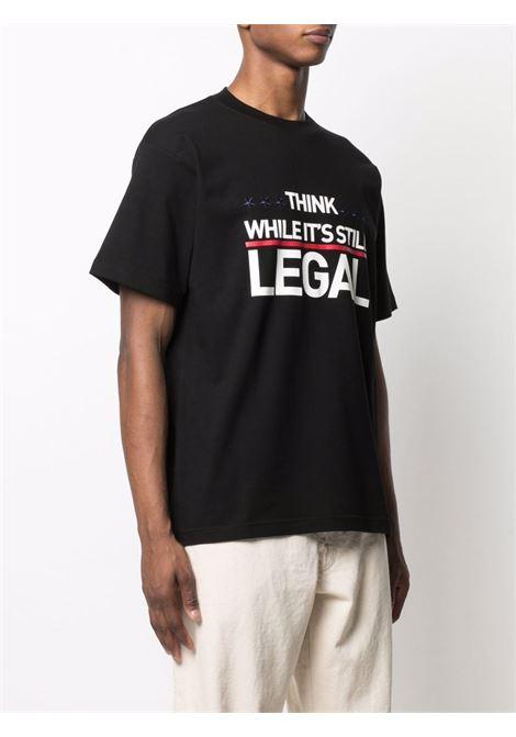 Black t-shirt VETEMENTS | UA52TR200B1611BLACK