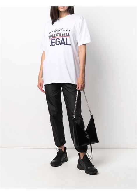 White t-shirt VETEMENTS | UA52TR200W1611WHITE
