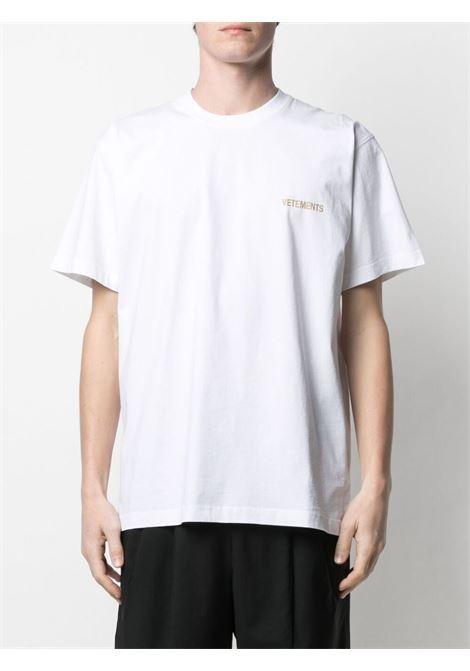 White t-shirt VETEMENTS | UA52TR240W1602WHITE