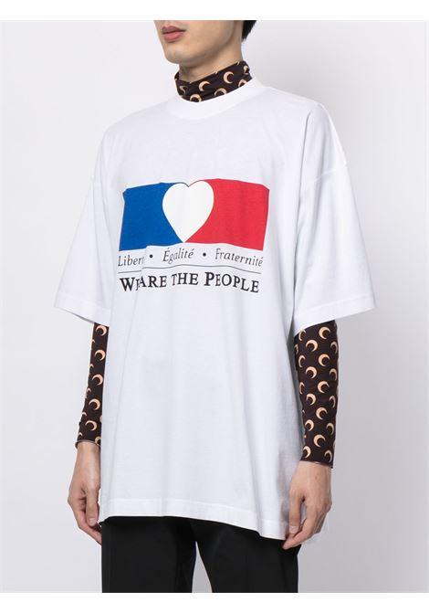 White t-shirt VETEMENTS | UA52TR250W1610WHITE