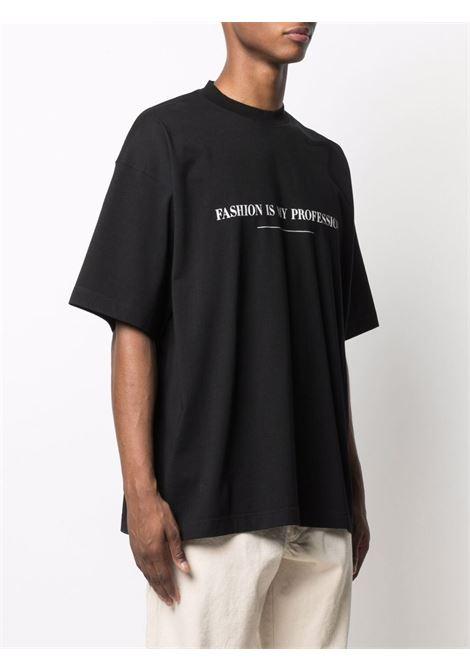 Black t-shirt VETEMENTS | UA52TR260B1610BLACK