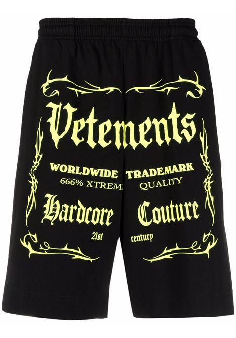 Shorts VETEMENTS | UA52TR400X1610BNY