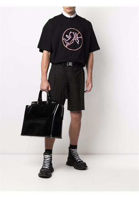 Black t-shirt VETEMENTS | UA52TR440B1611BLACK