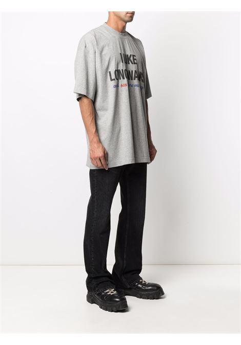 Grey t-shirt VETEMENTS | UA52TR520G1610GREYMELANGE