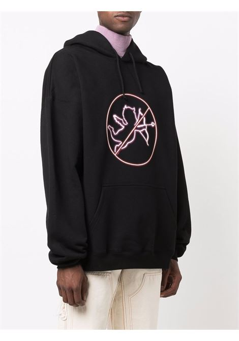 Black sweatshirt VETEMENTS | UA52TR810B1605BLACK