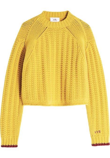 Maglione giallo VICTORIA BECKHAM | 2321KJU002799ASICILIANLEMON