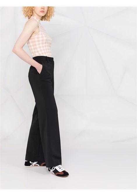 Pantalone nero VICTORIA BECKHAM | PANTALONI | 2321WTR002694ABLACK