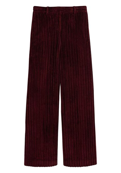 Pantalone rosso VICTORIA BECKHAM | 2321WTR002741AIRONRED