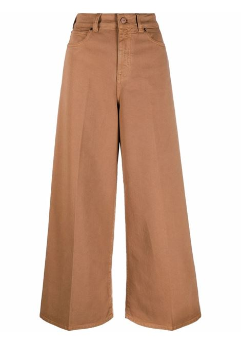 Pantalone marrone VICTORIA BECKHAM | 2321WTR002890ACINNAMONBROWN