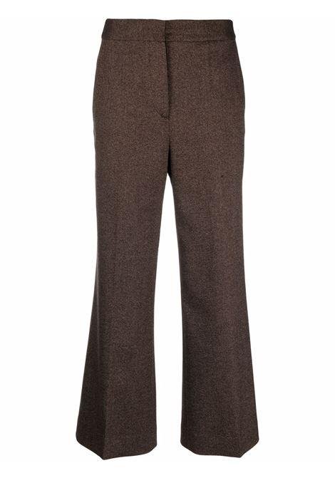 Pantalone marrone VICTORIA BECKHAM | 2321WTR002957ATOFFEEBROWN