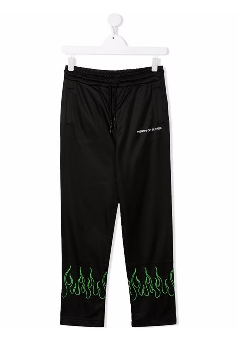 Pantalone VISION OF SUPER KIDS | VOSKB16GREENFLTBLACK