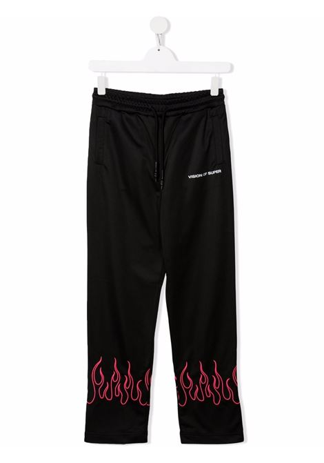 Pantalone VISION OF SUPER KIDS | VOSKB16PINKFLTBLACK