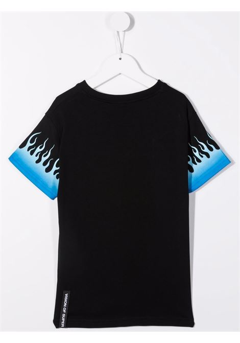 T-shirt VISION OF SUPER KIDS | VOSKB1BLUSFUBLACK