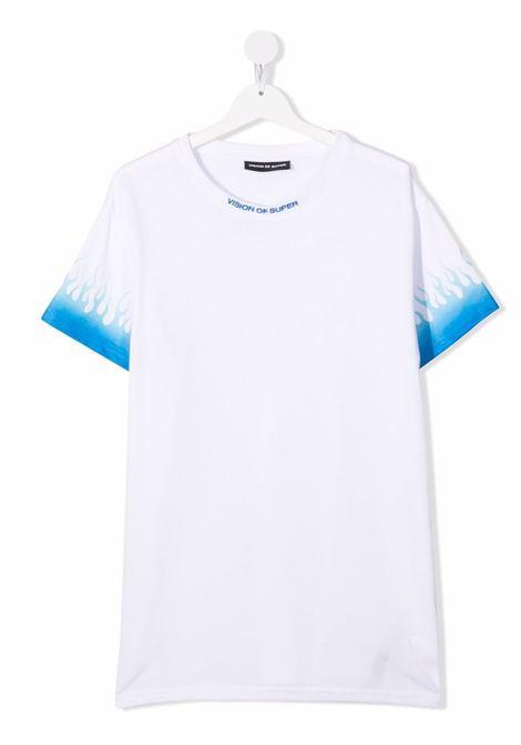 T-shirt VISION OF SUPER KIDS | VOSKW1BLUSFUTWHITE