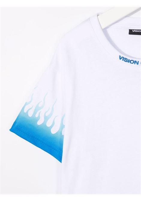 T-shirt VISION OF SUPER KIDS | VOSKW1BLUSFUWHITE