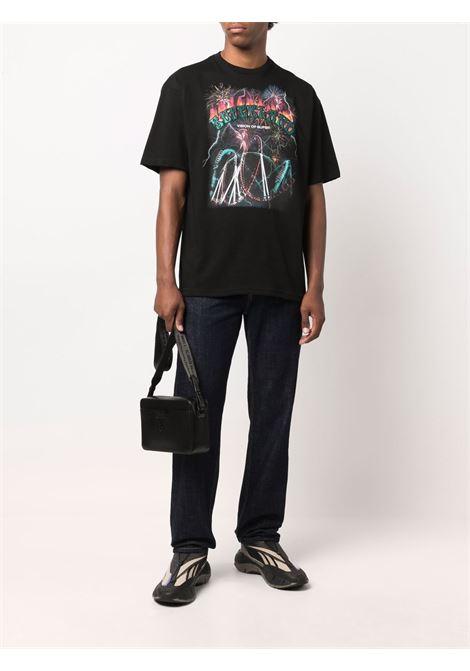 Black t-shirt  VISION OF SUPER | VOSB1RIDESBLACK