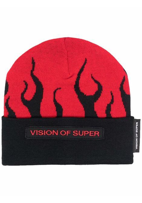 Beanie VISION OF SUPER | VOSBEANIEFLREDBLACK