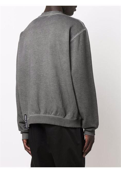 Grey sweatshirt VISION OF SUPER | VOSG12TRIPLEGREY