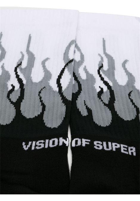 VISION OF SUPER | VOSSOCKSGREYBLACK