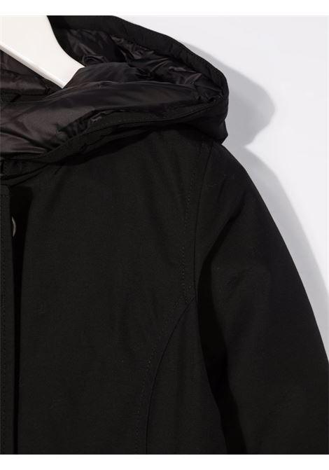Cappotto nero WOOLRICH KIDS | CFWKOU0223FRUT0641BLK