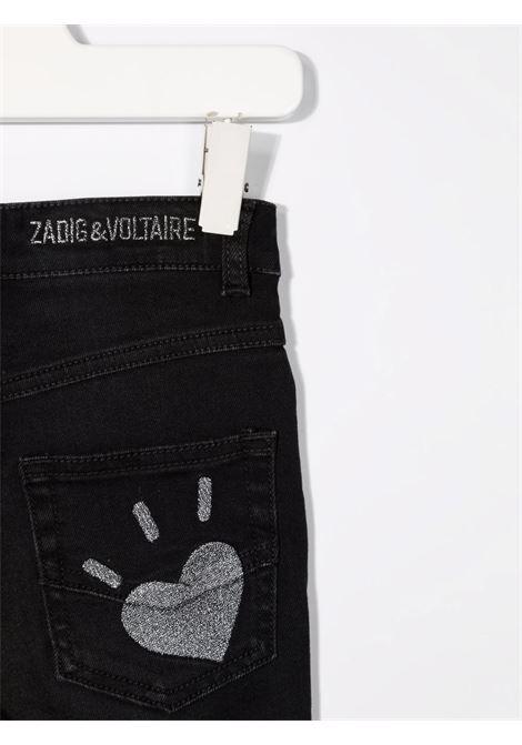 Black jeans ZADIG & VOLTAIRE KIDS | X14124Z11