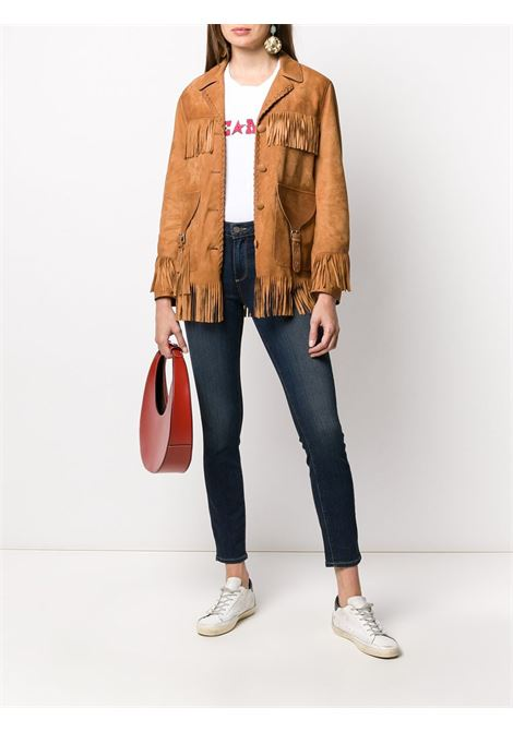 Fringed leather jacket GOLDEN GOOSE |  | OGP0G36WP138A1_A1