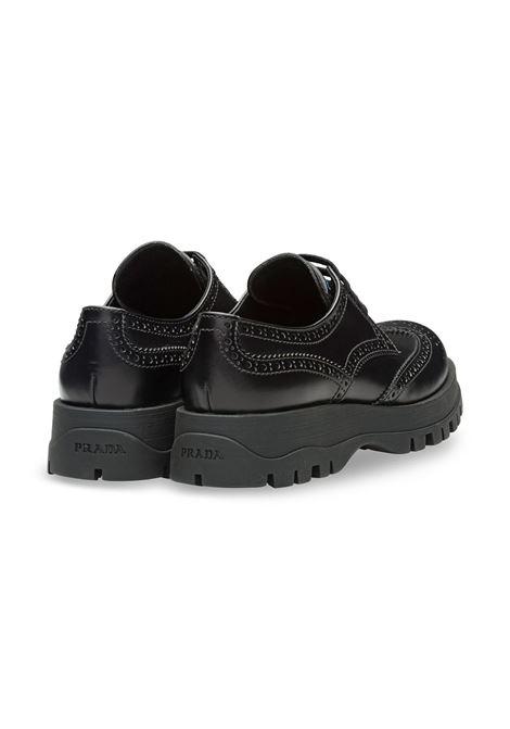 Leather shoe with rubber sole PRADA |  | 1E055LF030B4LF0002