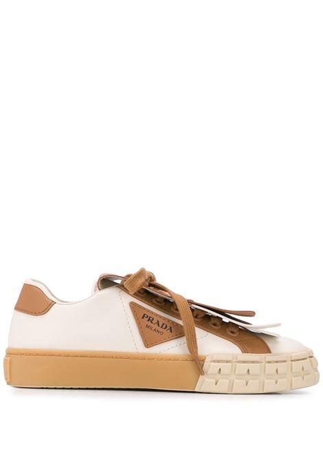 Sneakers con frange PRADA | PRP01E943LF0353L48_F0J4L