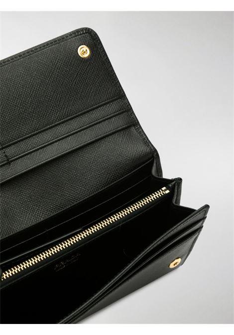 Portafoglio nero PRADA | PORTAFOGLI | PRP01MH132QWA_F0002