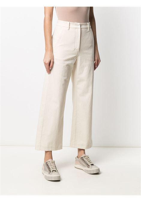 Pantalone bianco 'S MAXMARA | PANTALONI | 91310111600435001