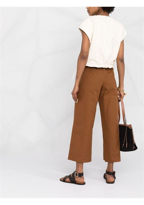 Pantalone caramello 'S MAXMARA | PANTALONI | 91310412600326002