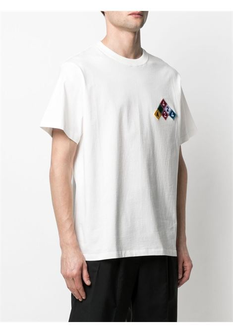 T-shirt bianco 424 | T-SHIRT | 30424M10421601802