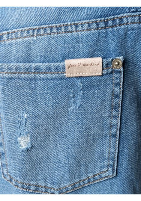 Jeans blu 7 FOR ALL MAN KIND | JEANS | JSANR890STMIDBLUE