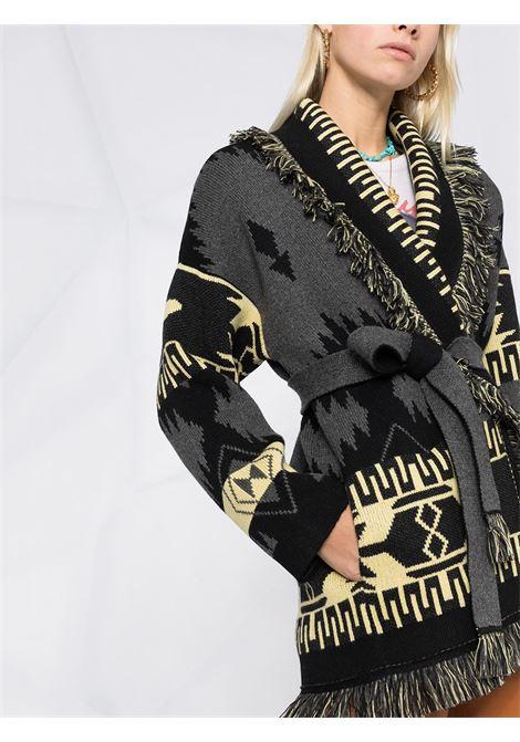 Cardigan giallo/nero/grigio ALANUI | CARDIGAN | LWHB043R21KNI0010785