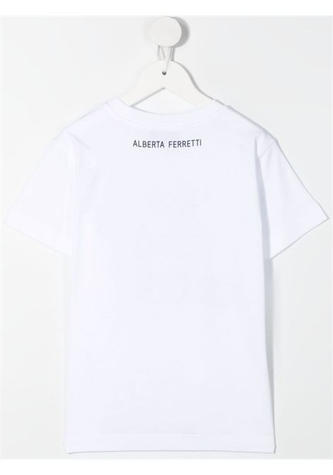 T-shirt bianca ALBERTA FERRETTI KIDS | T-SHIRT | 027424002