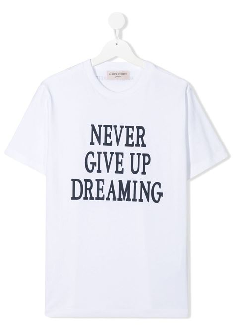 T-shirt bianca ALBERTA FERRETTI KIDS | T-SHIRT | 027424T002