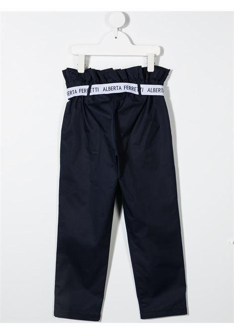 Pantalone blu ALBERTA FERRETTI KIDS | PANTALONI | 027433060