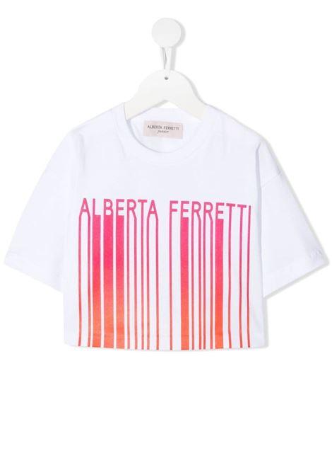 T-shirt bianca ALBERTA FERRETTI KIDS | T-SHIRT | 027437002