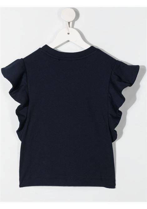 T-shirt blu ALBERTA FERRETTI KIDS | T-SHIRT | 027438060