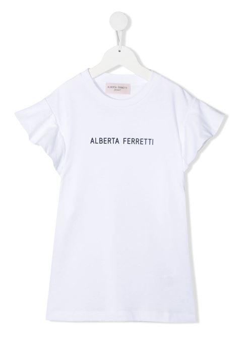 T-shirt bianca ALBERTA FERRETTI KIDS | T-SHIRT | 027438T002