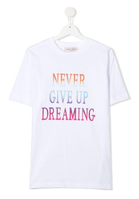 T-shirt bianca ALBERTA FERRETTI KIDS | T-SHIRT | 027809T002